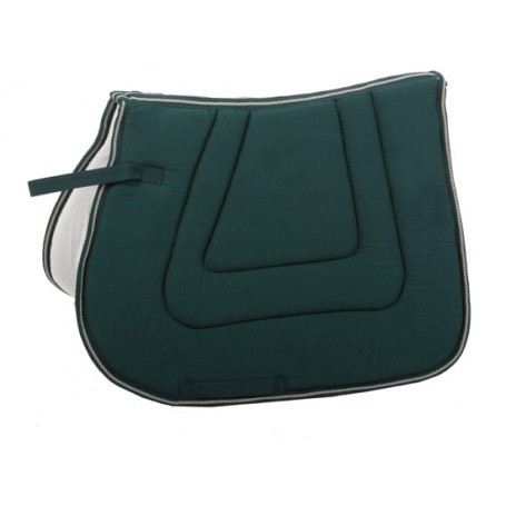 Premium Green Quilted English Ridding Pad