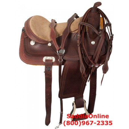 Ready To Ride Western Pleasure Trail Horse Saddle 17