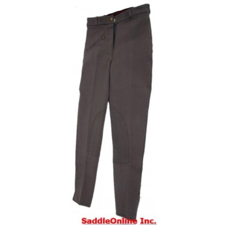 New 22-36 Charcoal Grey Cool Cotton Riding Breeches / Pants