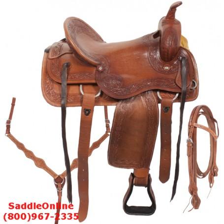Western Pleasure Trail Work Ranch Saddle 17