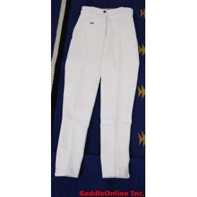 New 22-24 White Cool Cotton Riding Breeches / Pants