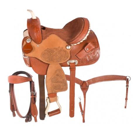 13 Barrel Racing Western Leather Horse Saddle