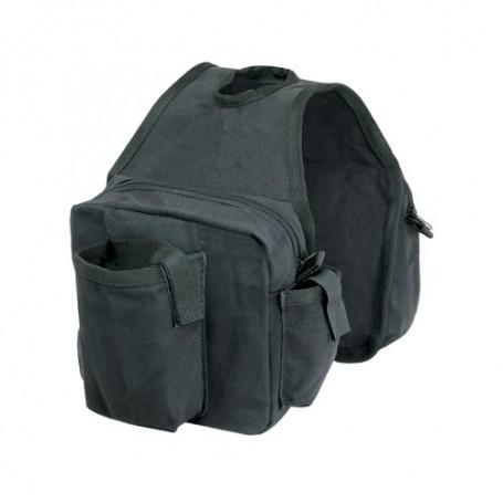 Western Heavy Canvas Horn Saddle Bags