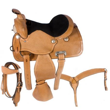 Premium Mini Horse Miniature Child Kids Saddle 8