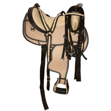 New 15 Beautiful Western Horse Saddle W Tack