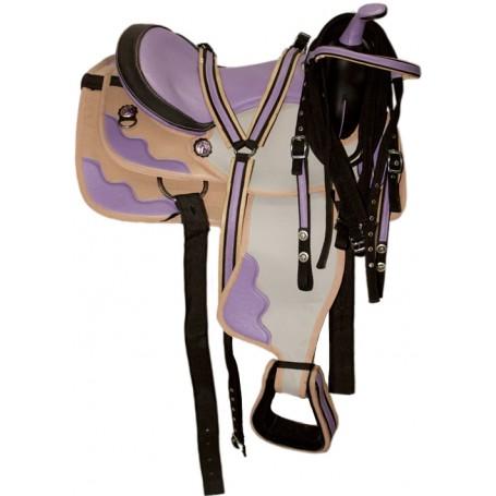 New 15 Beautiful Western Horse Saddle W Tack