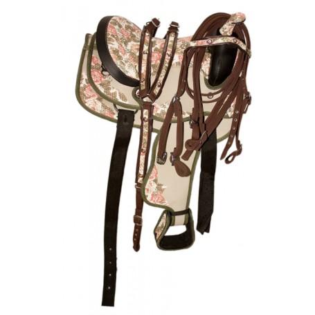 New 14 Beautiful Western Horse Saddle W Tack