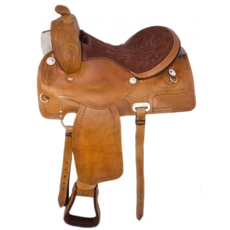 New Western Leather Draft Horse Saddle 17
