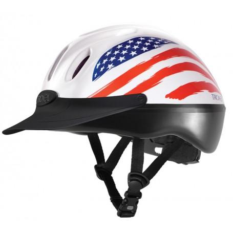 Troxel Spirit Graphic Riding  Helmet - American