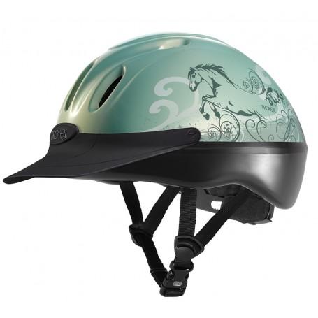 Troxel Spirit Graphic Helmet - Mint Dreamscape