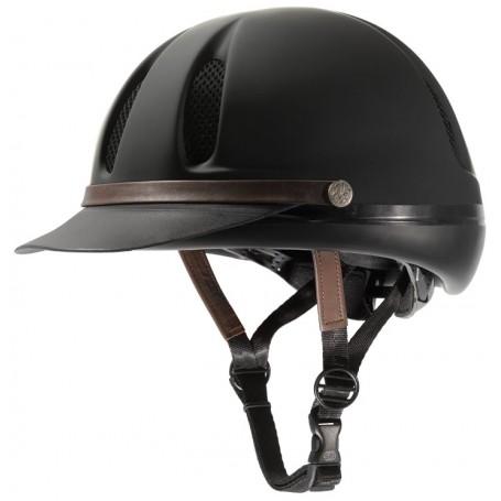 Troxel Dakota Duratec Riding Helmet - Black