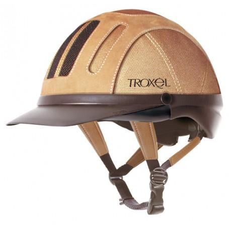 Troxel Sierra Riding Helmet - Tan