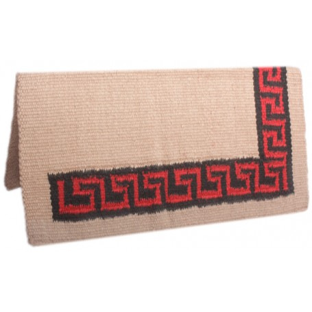 Sand Premium New Zealand Wool Show Horse Saddle Blanket