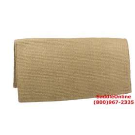 Sand Premium New Zealand Wool Show Horse Saddle Blanket