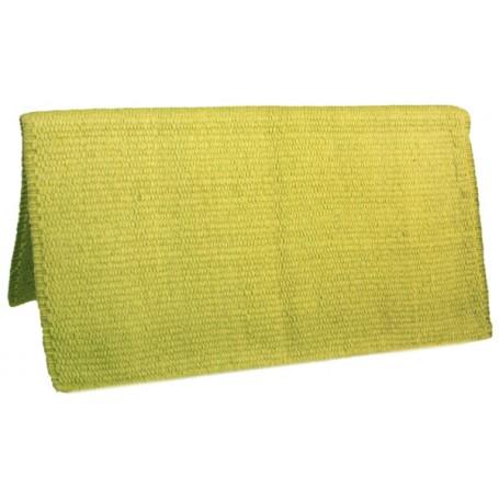 Lime Premium New Zealand Wool Show Horse Saddle Blanket