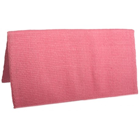 Pink Premium New Zealand Wool Show Horse Saddle Blanket