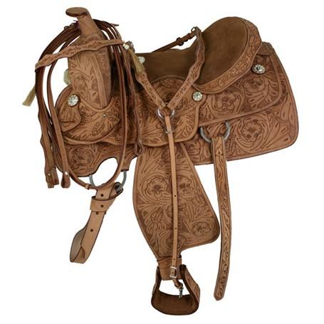 Premium Tooled Show Saddle