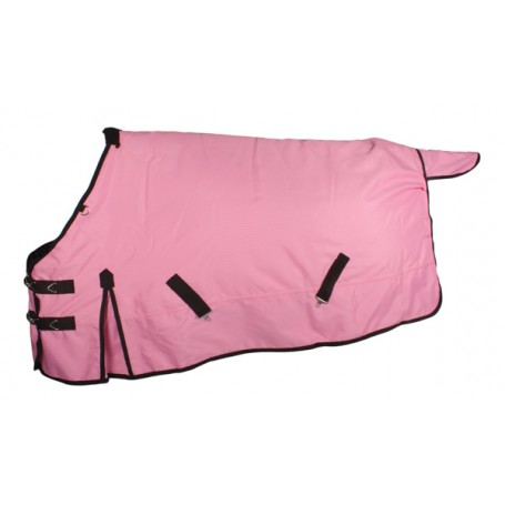 Waterproof 600D Pink Winter Turnout Horse Blanket 84