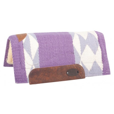 Purple Premium Wool Heavy Pony Saddle Pad