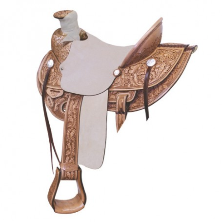 New 16 Wade Ranch Roper Saddle  Saddlesmith Texas