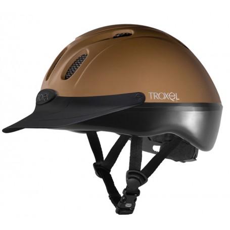 Troxel Spirit Brown Chestnut Duratec Riding Helmet