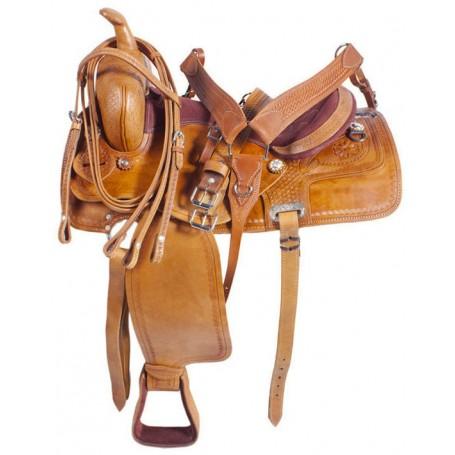 Western Saddle Sale Leather Cutting Cowhorse 15