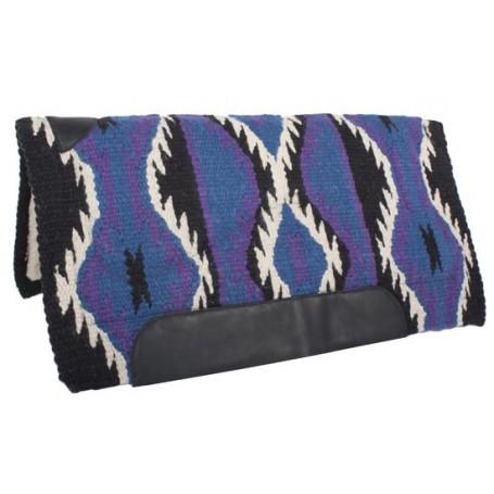 Purple Wool Felt Heavy Western Horse Saddle Pad