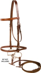 Brown All Purpose Leather Jumping English Horse Bridle Reins