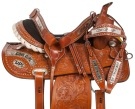 Cowgirl Up Barrel Racing Western Horse Saddle Tack 14 16 [10803]