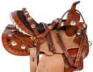 Beautiful Crystal Western Show Horse Saddle Tack 14 16 [10822]
