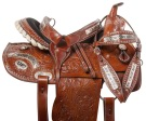 Cowgirl Barrel Racing Western Trail Horse Saddle Tack 14 15 [10957]