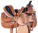 Rough Out Ranch Roping Western Leather Horse Saddle Tack [11019]