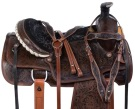 Antique Team Roping Western Ranch Work Horse Saddle Tack